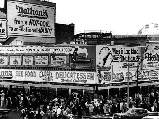 No, the Nathan's Hot Dog Eating Contest Isn't 100 Years Old