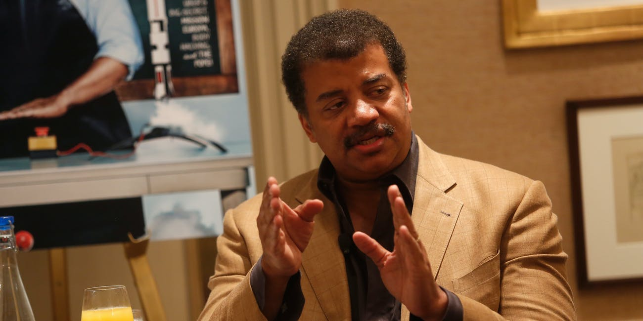 neil degrasse tyson climate change tweet