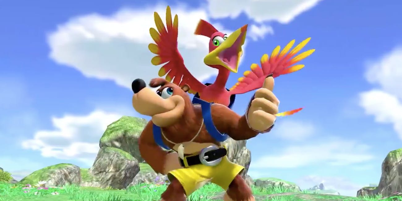 Banjo-Kazooie in 'Super Smash Bros. Ultimate'
