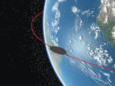 Here's a Weird Idea for a Space Junk Sweeper-Satellite Tracker Combo