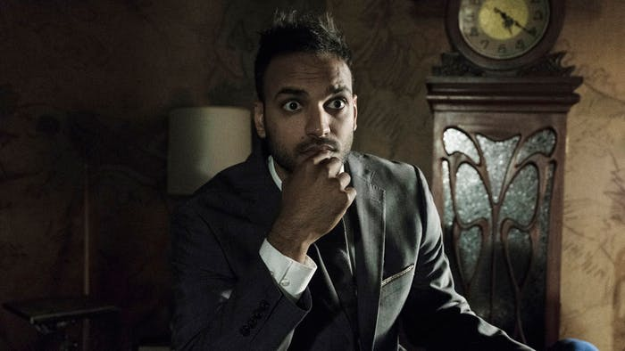 Arjun Gupta as Penny in 'The Magicians' Season 3.