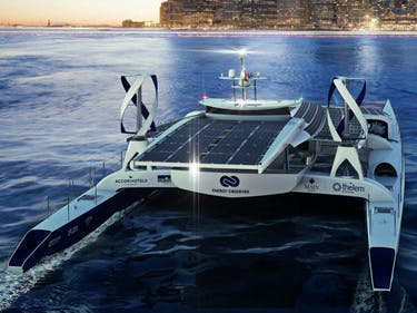 An All-Electric Boat Is About to Sail Around the World for 6 Years