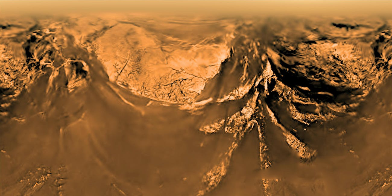 Titan riverbeds show how unique Earth really is
