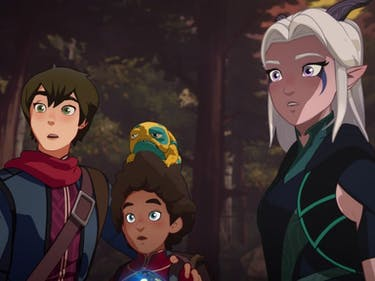 Dragon Prince Season 2 Release Date Plot Video Game Animation