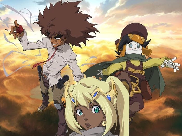 'Cannon Busters' is all about an oddball trio.