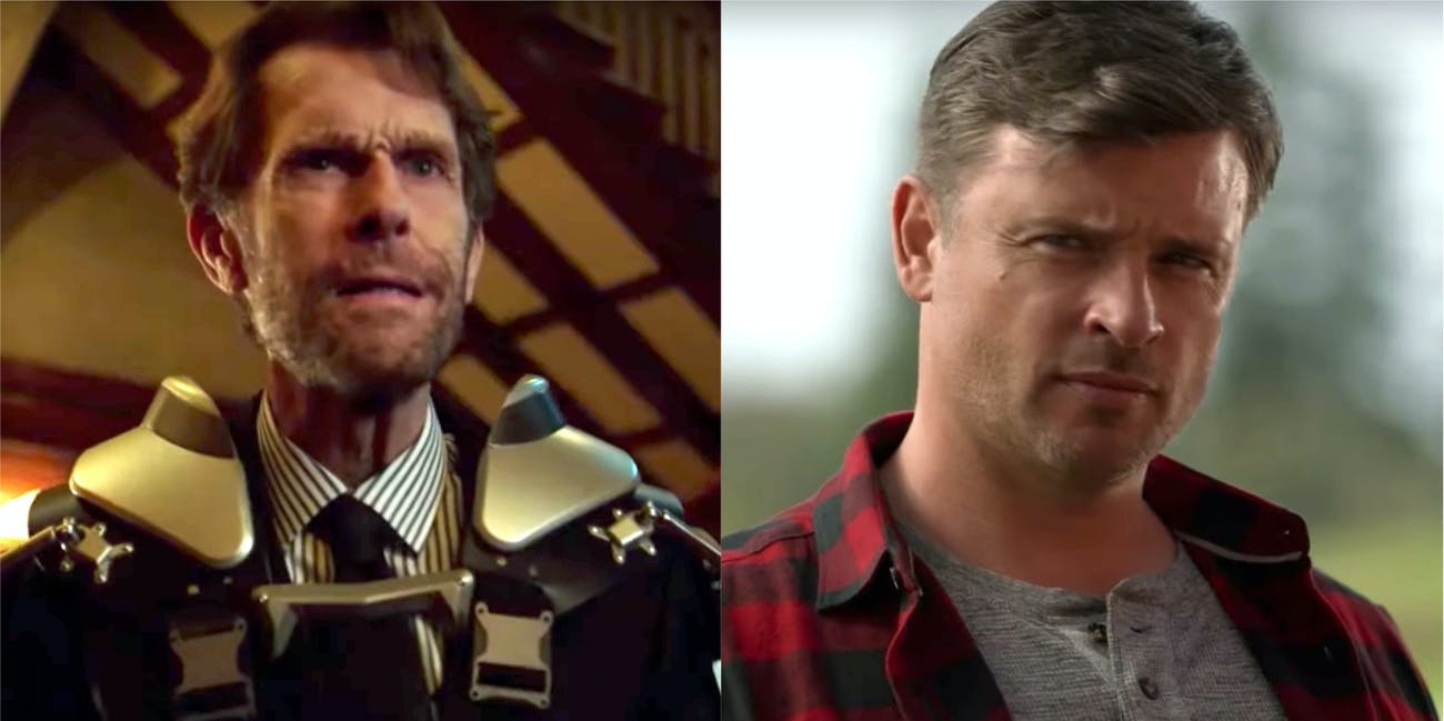 Crisis on Infinite Earths Kevin Conroy Tom Welling