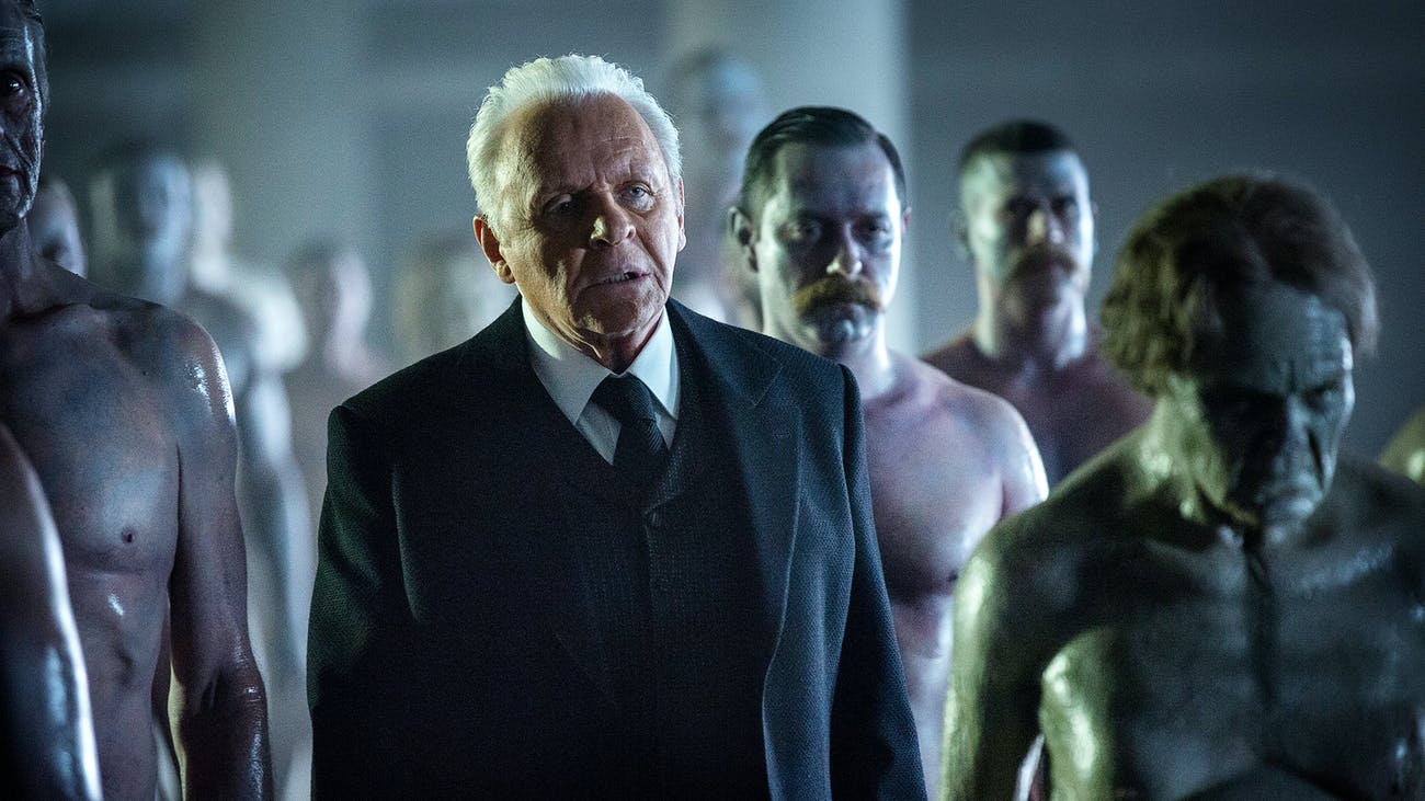 Anthony Hopkins as Robert Ford on 'Westworld'.