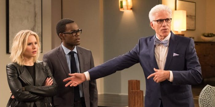 the good place season 3 spoilers theories episode 3 angel