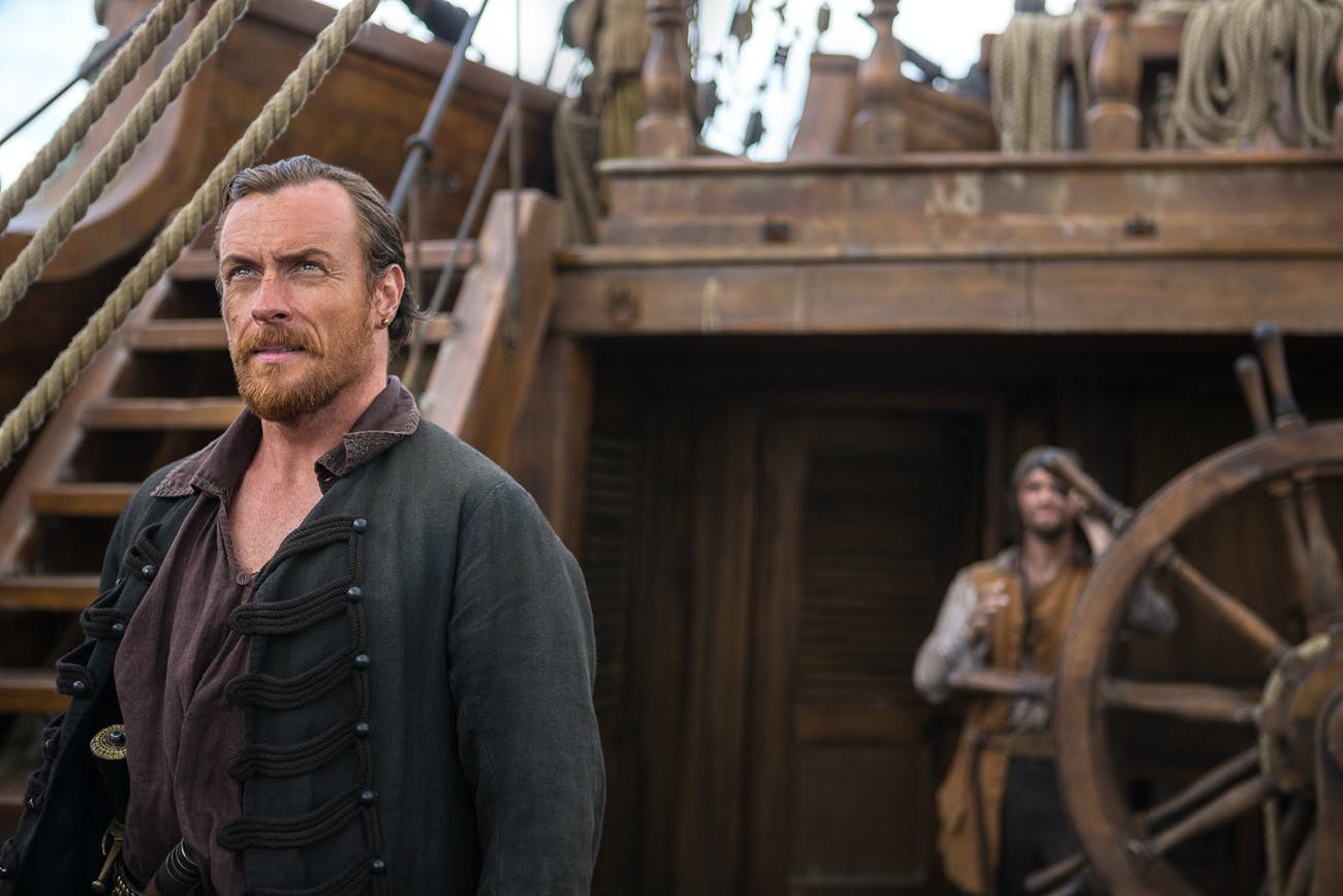Toby Stephens As Flint in 'Black Sails