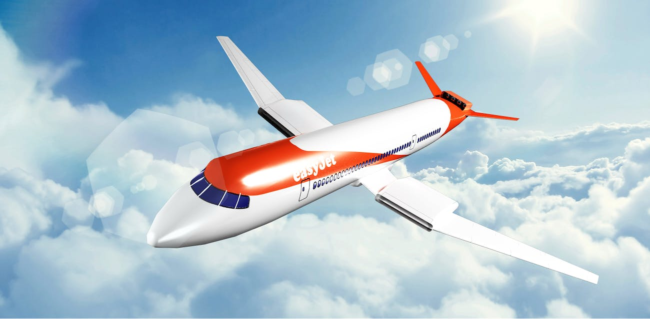 Easyjet's electric plane.