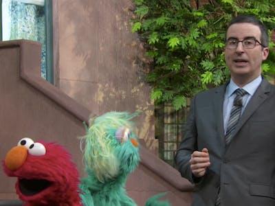 John Oliver Teams Up With Sesame Street to Explain Lead Threat on 'Last Week Tonight'