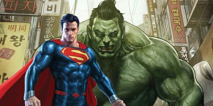 Hulk Superman Gene Luen Yang Greg Pak Marvel DC