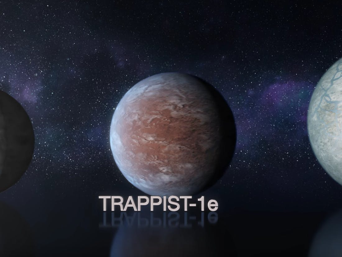 trappist-1 planet parade