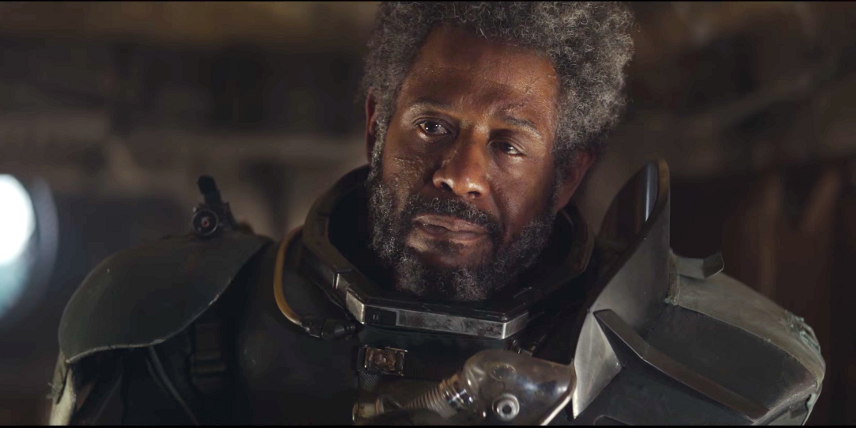 Forest Whitaker as Saw Gerrera in the standalone 'Star Wars' movie 'Rogue One'
