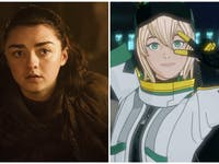 HBO Game of Thrones Maisie Williams Rooster Teeth gen:LOCK