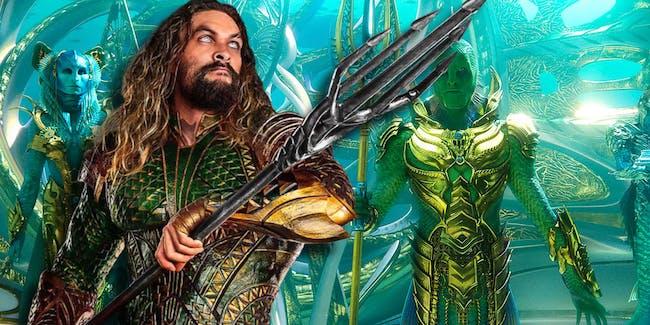 Fisherman King in Aquaman