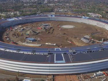 Apple's Spaceship Campus Looks Stunning in This 4K Drone Footage