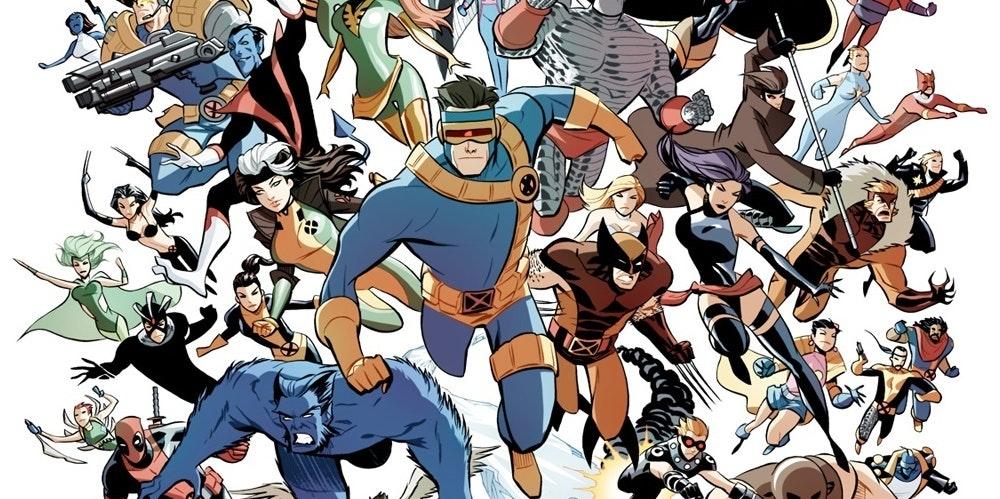 X-Men by Marcio Takara