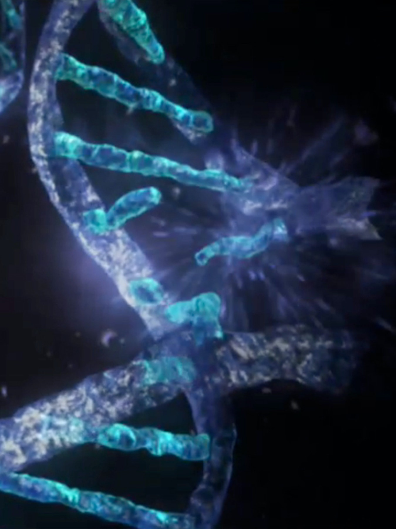 space radiation dna