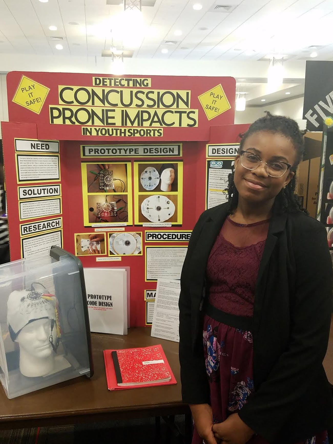 Kennedy Rogers science fair young innovators