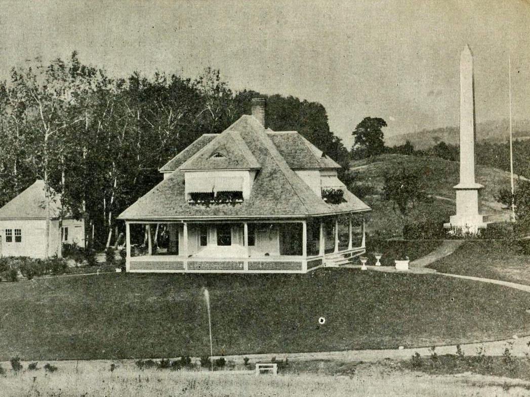 Joseph Smith's birthplace, 1907.