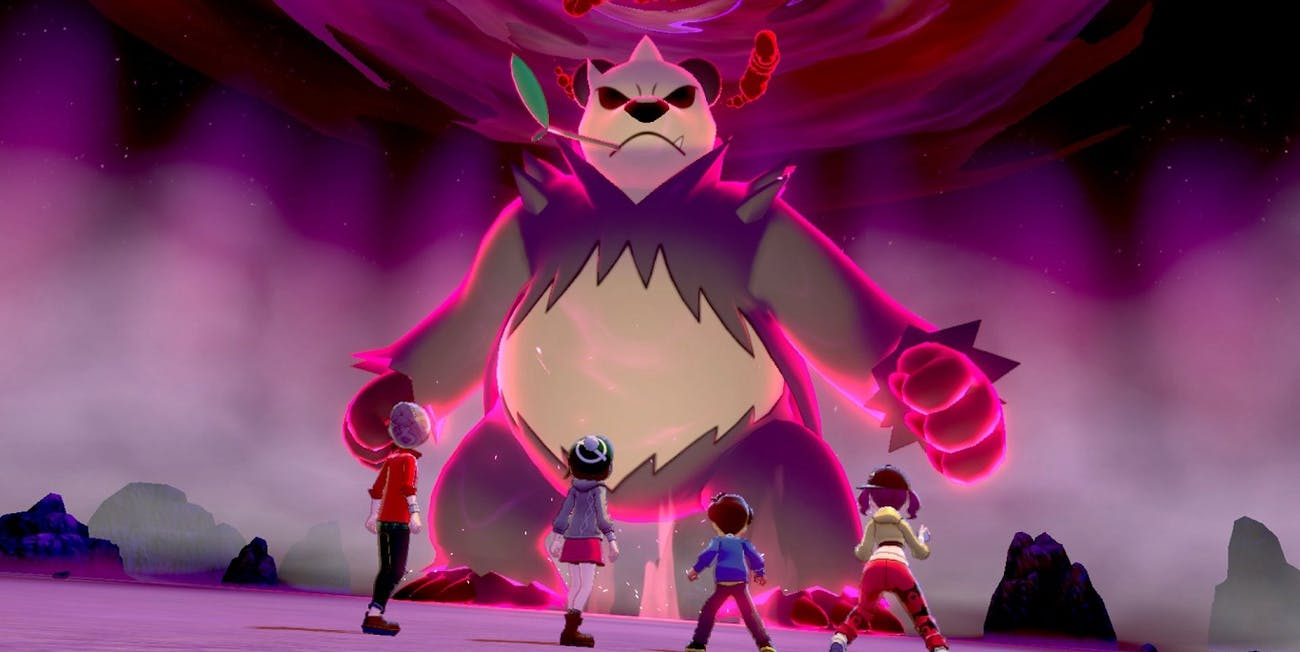 pokemon sword shield max raid battle