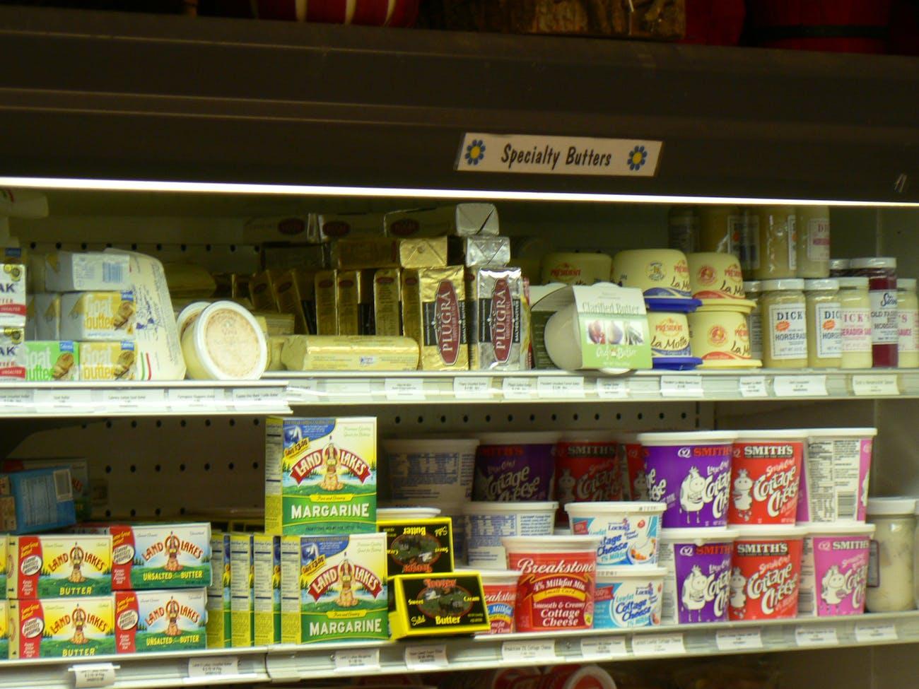 butter margarine