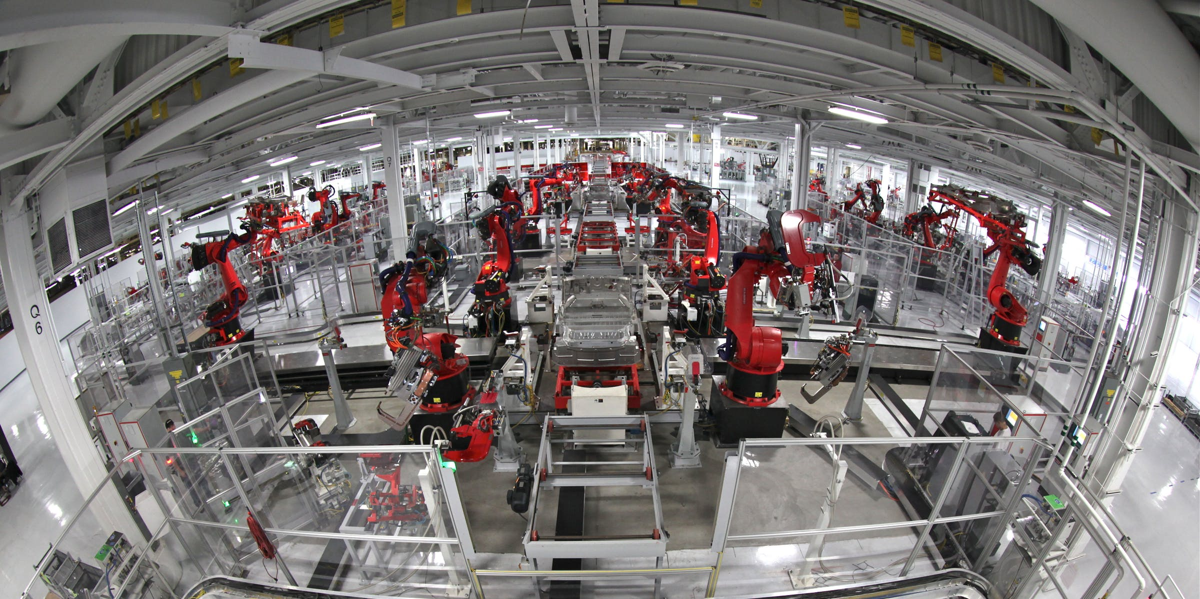 Tesla Motors Assembly Line