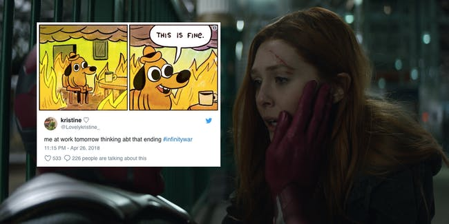 Avengers Infinity War Reactions