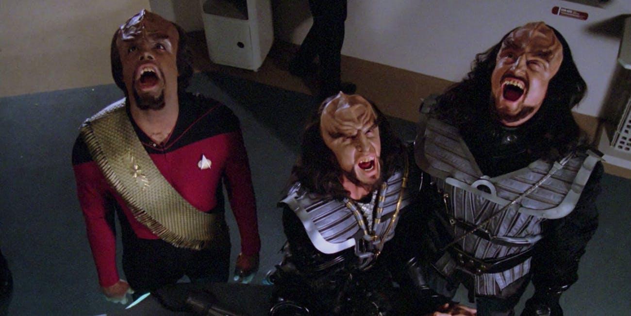 The Klingon language has human roots