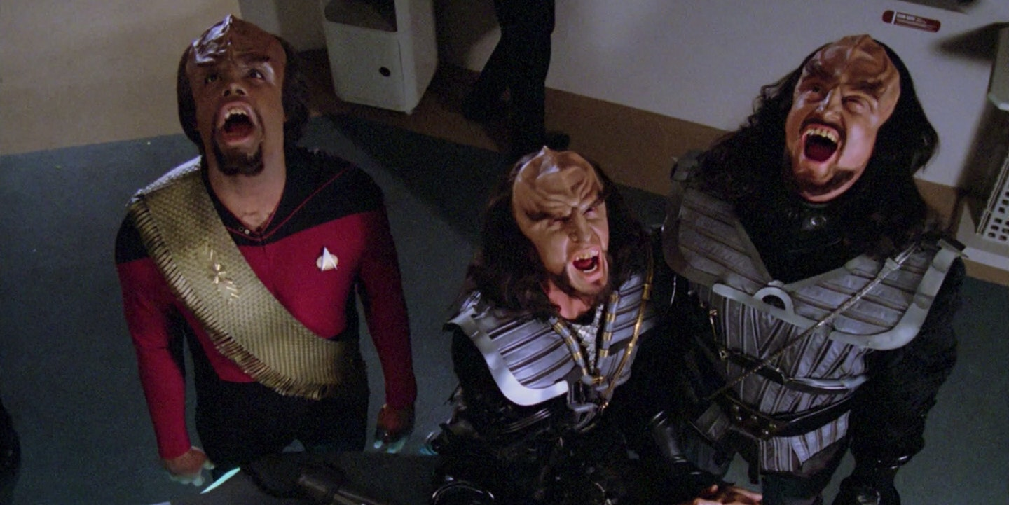 The Klingon language has human roots