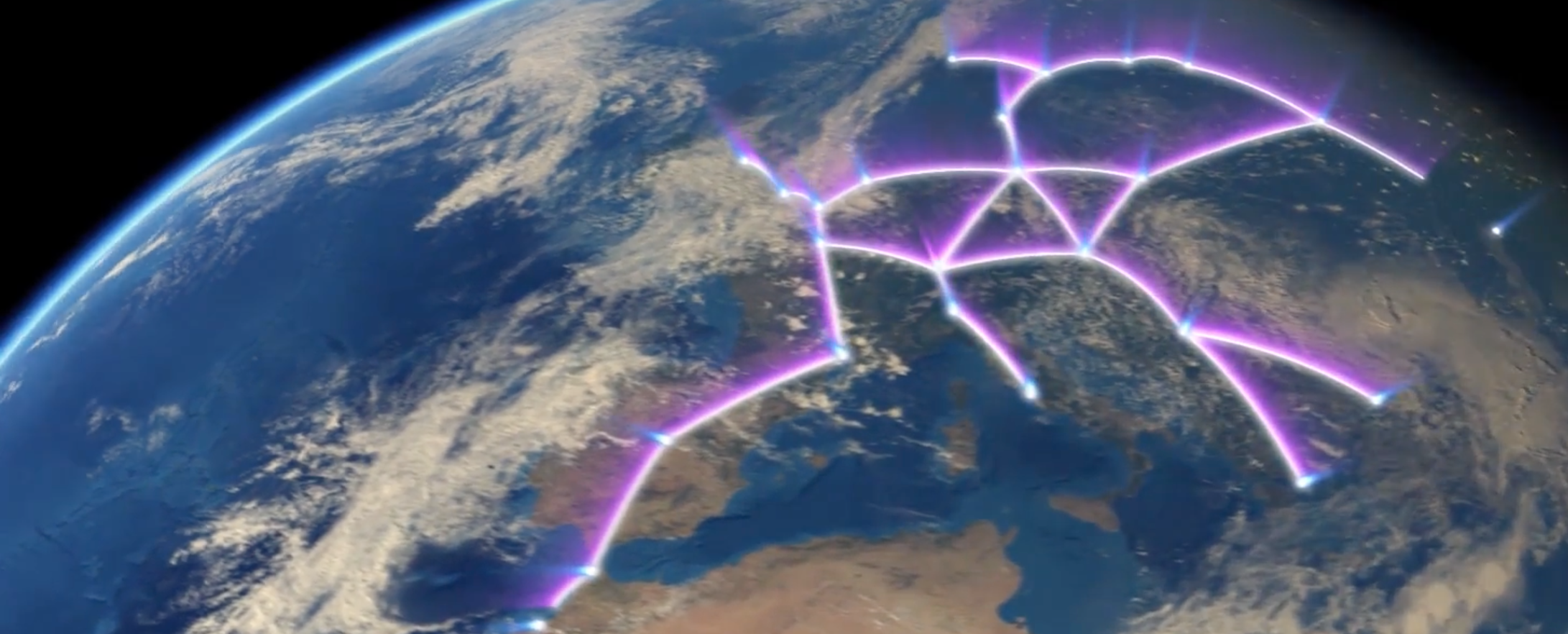 Map Showing Europe%0A Here Are the Nine Routes Hyperloop One Wants to Build in Europe   Inverse