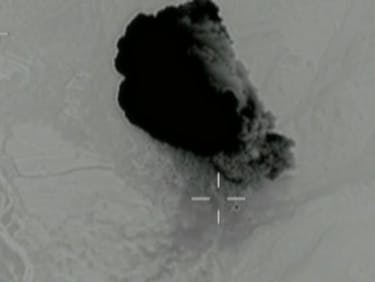 The DoD Just Released Footage of the Mother of All Bombs Strike