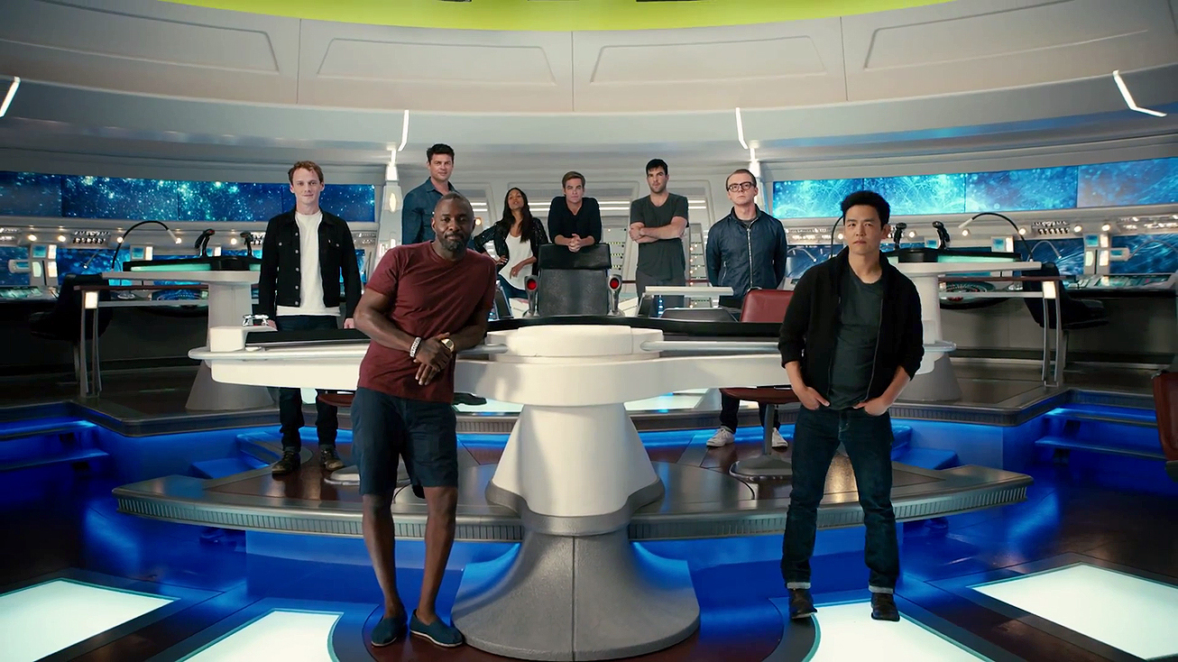 Cast of 'Star Trek Beyond' out of costume