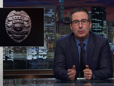 John Oliver: 'Bad Apples' Is No Excuse for Police Injustice