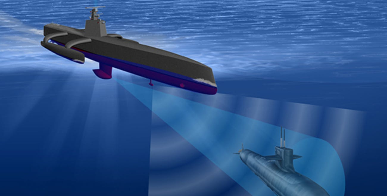 Anti-Submarine Warfare (ASW) Continuous Trail Unmanned Vessel (ACTUV)