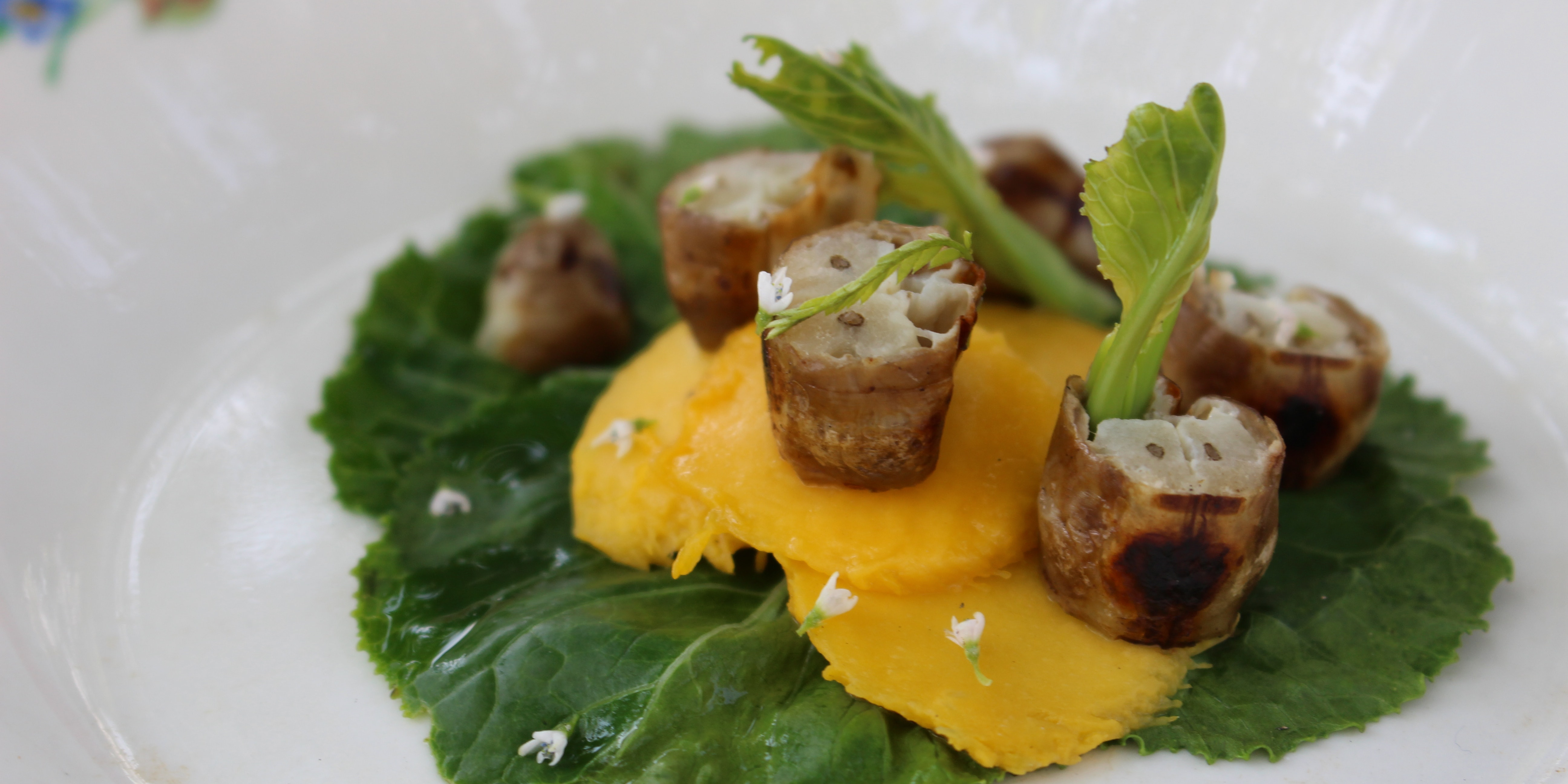 Gourmet bug dishes, like the termite queen with mango shown here, force us to ask how we can eat both sustainably and well.
