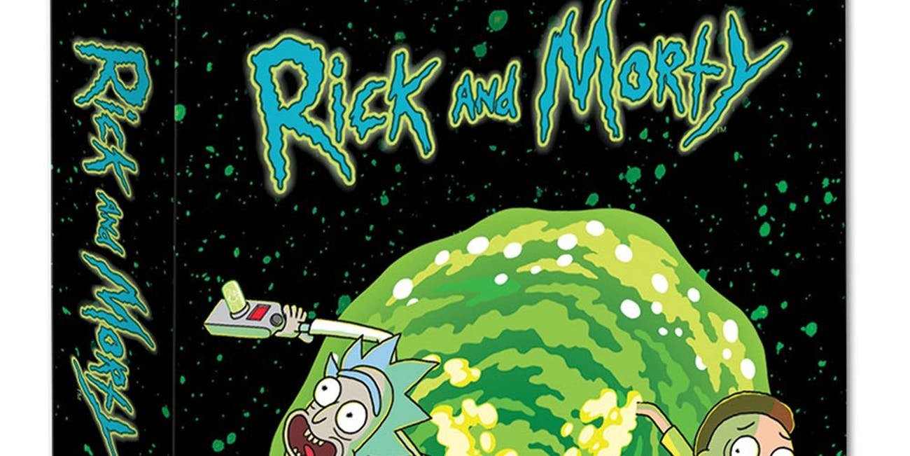 USAOPOLY Playing Cards: Rick & Morty Cards, Multicolor