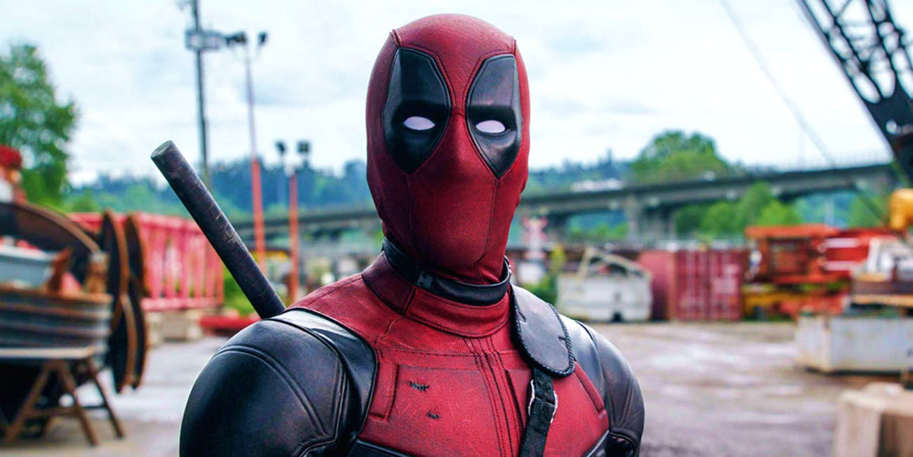 Ryan Reynolds as Deadpool in 'Deadpool'.