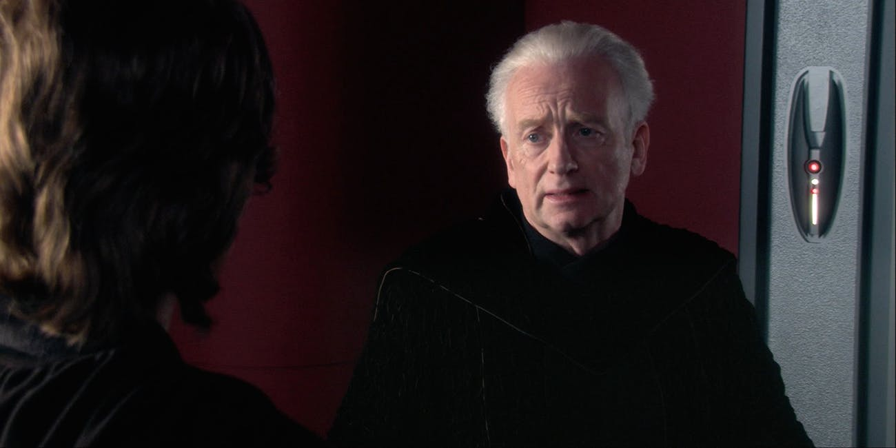Palpatine and Anakin in 'Revenge of the Sith'
