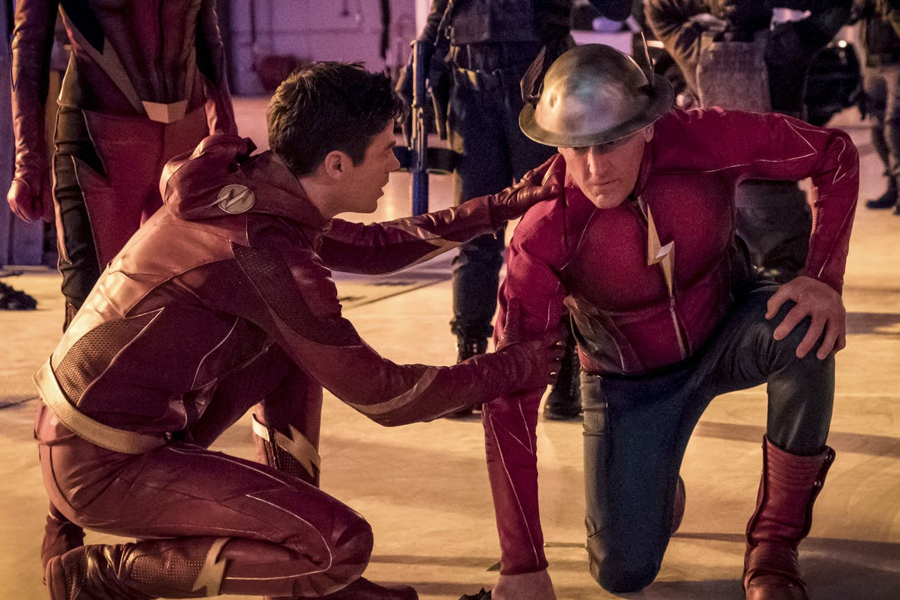 Remember when Jay Garrick got winded while in Flashtime?