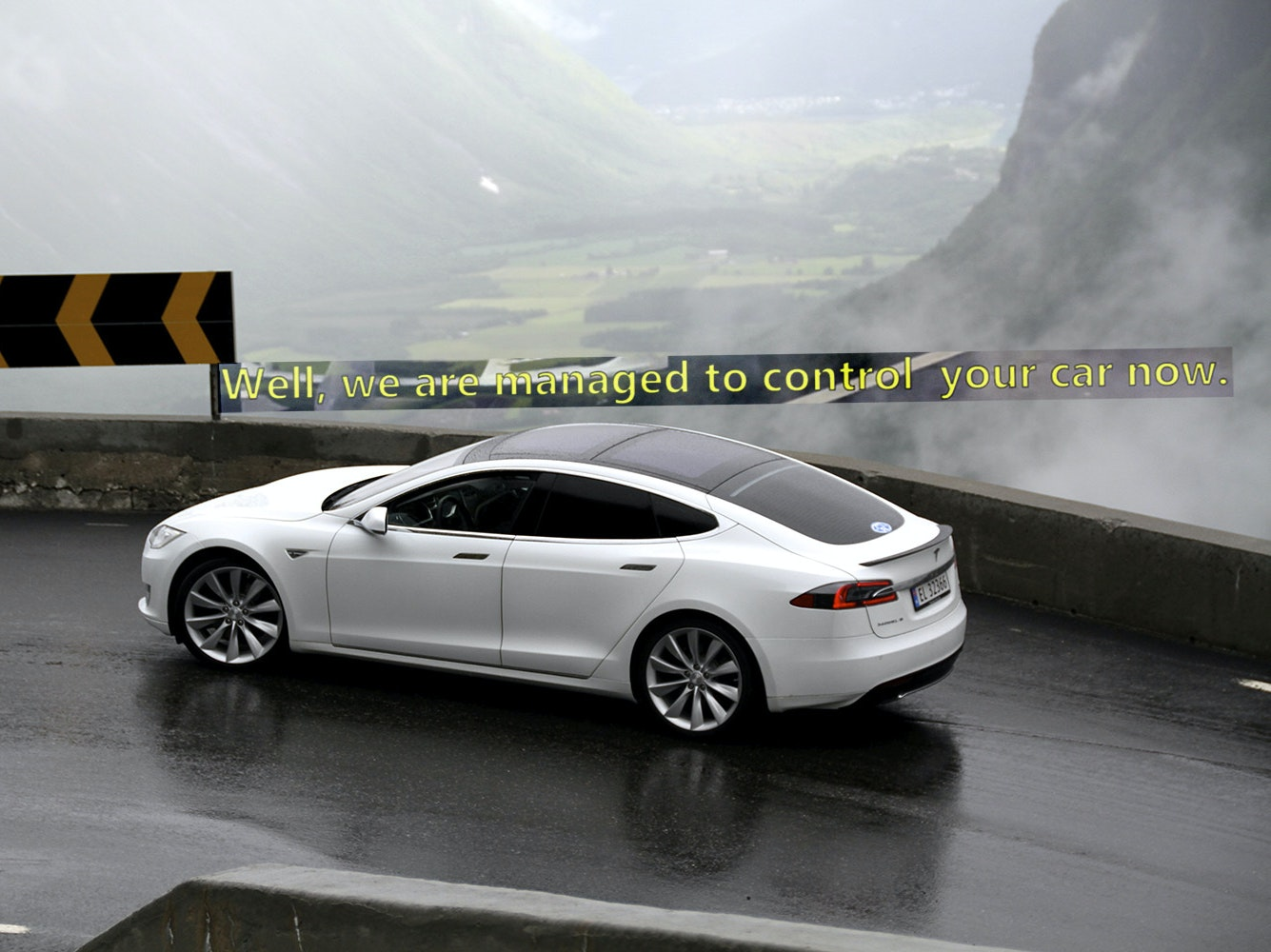 """A Chinese Hacker Team Just Remotely """"Pwned"""" a Tesla"""
