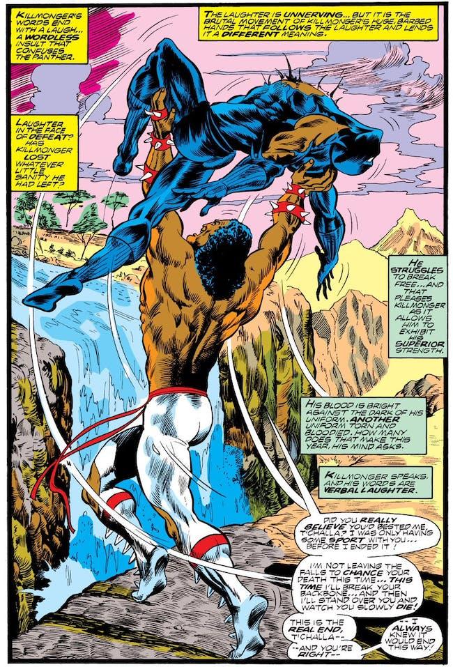 Black Panther Killmonger