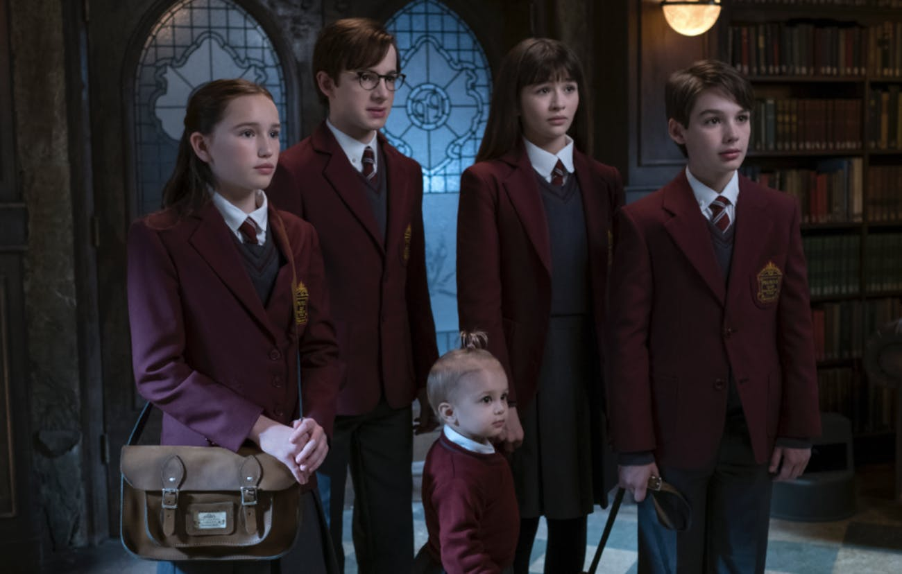The Quagmires and the Baudelaires