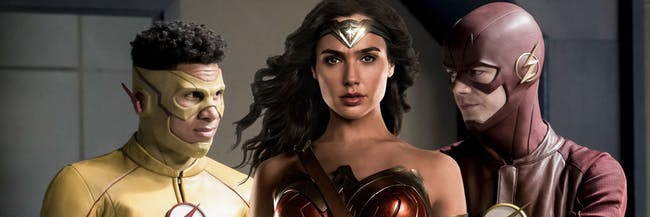 DC Wonder Woman Arrowverse Flash