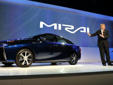 Toyota Wants Only Electric Cars on the Roads by 2050