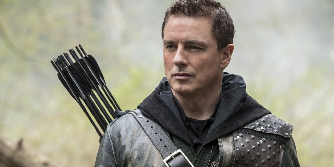 Arrow John Barrowman Malcolm Merlyn