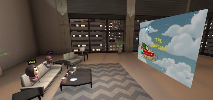 Plex VR Google Daydream virtual reality theater