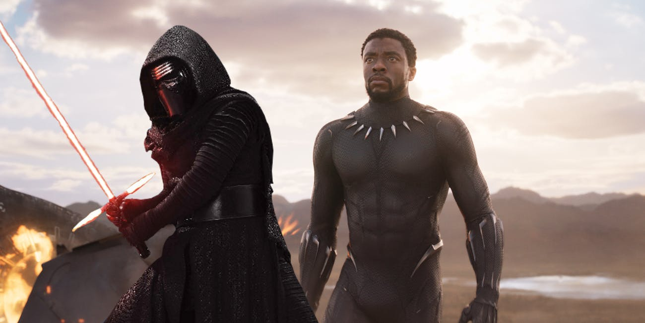 The same group behind the supposed Rotten Tomatoes 'Last Jedi' hack has targeted 'Black Panther' next.