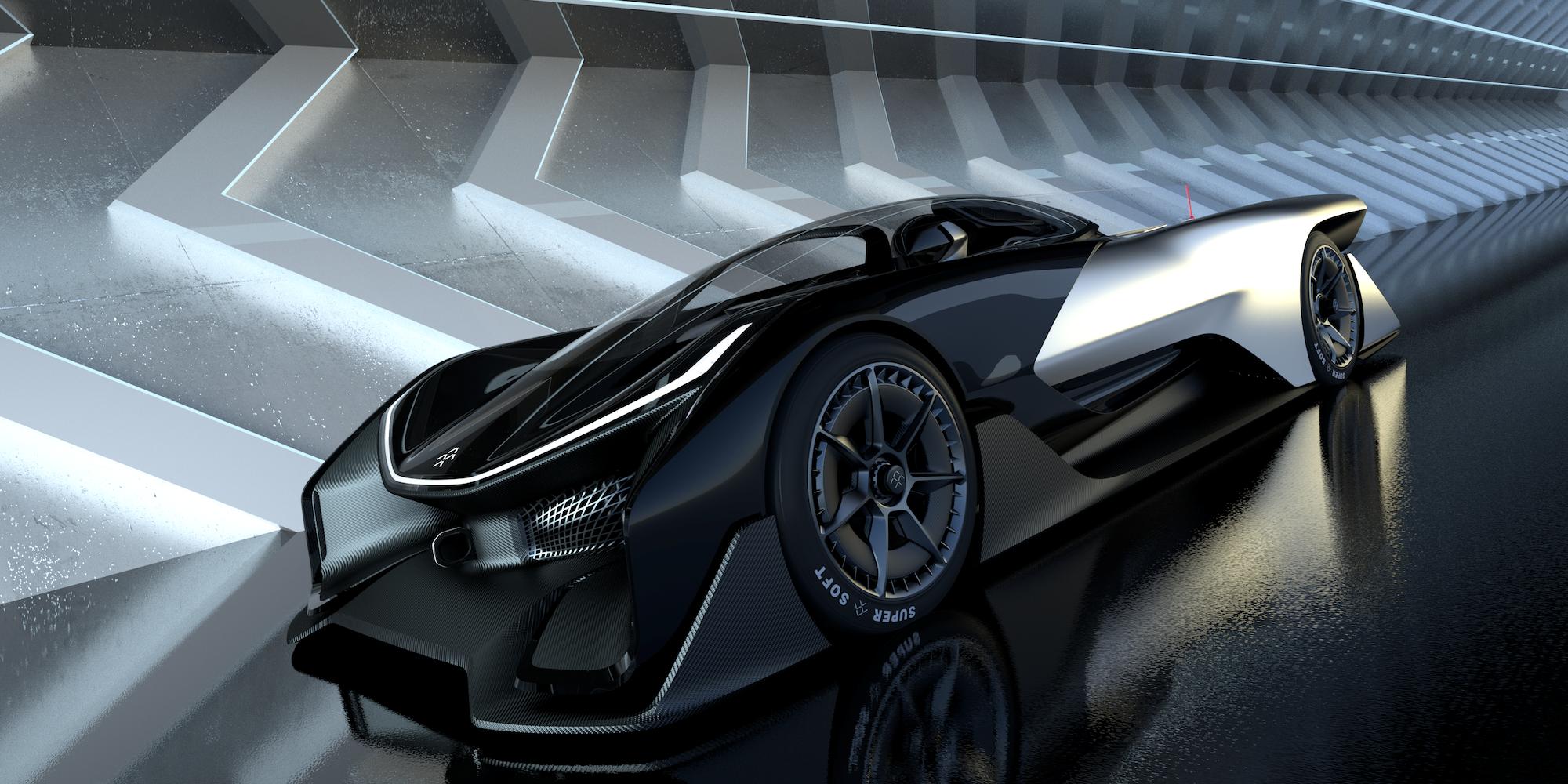 Faraday Future announced a partnership with LG Chem.